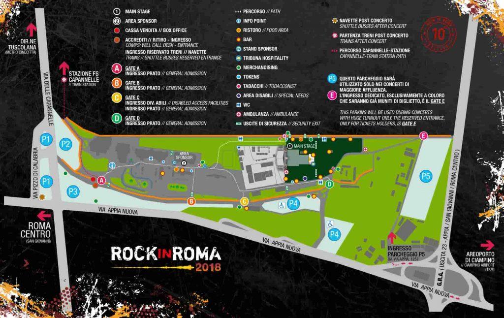 mappa Rock in Roma 2018-min