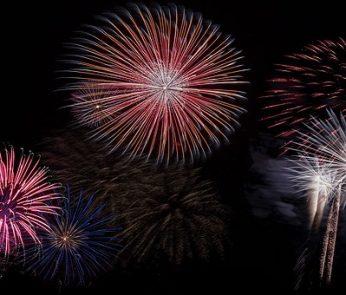 fuochi d'artificio 2019 Lazio