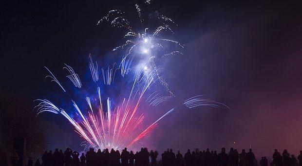 fuochi d'artificio 2018 Lazio